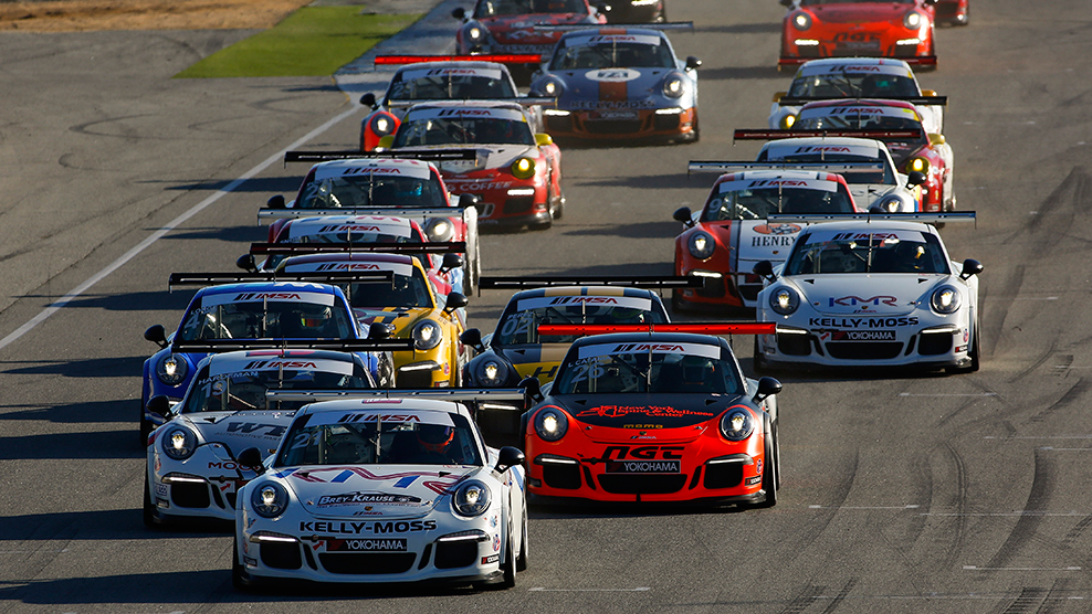 Mazda Raceway 2016 Porsche GT3 Cup USA by Yokohama TV Broadcast