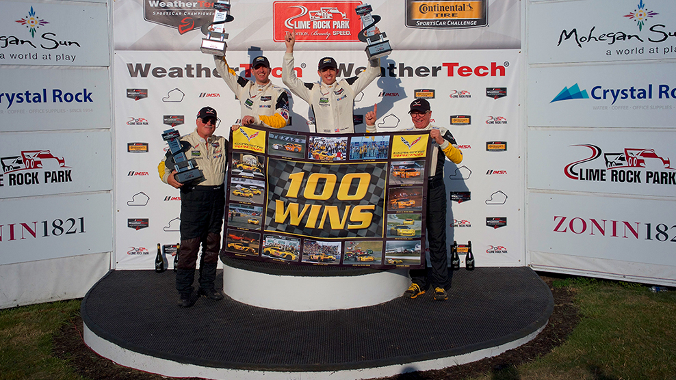 Corvette Racing Captures 100th Sports Car Racing Victory