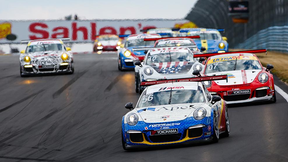 Watkins Glen 2016 Porsche GT3 Cup Challenge USA by Yokohama TV Broadcast