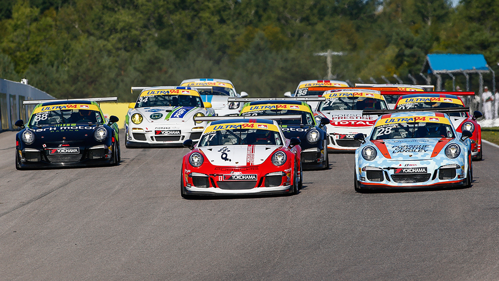 Canadian Tire Motorsport Park 2016 Ultra 94 Porsche GT3 Cup Challenge Canada by Yokohama TV Broadcast