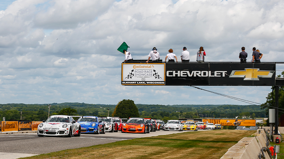 Road America 2016 Porsche GT3 Cup Challenge USA by Yokohama TV Broadcast