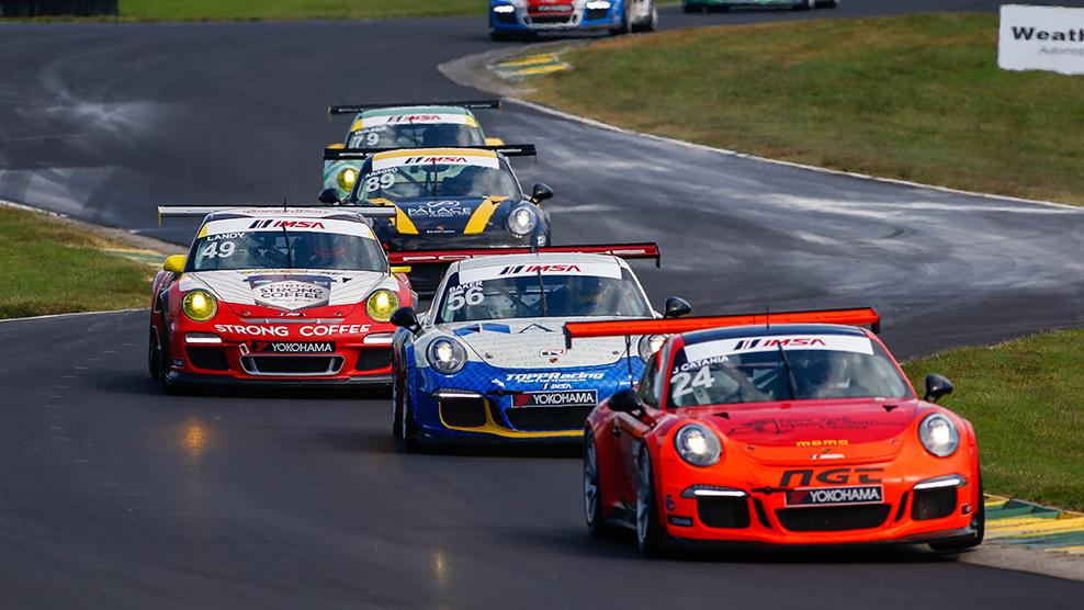 VIR 2016 Porsche GT3 Cup Challenge USA by Yokohama TV Broadcast