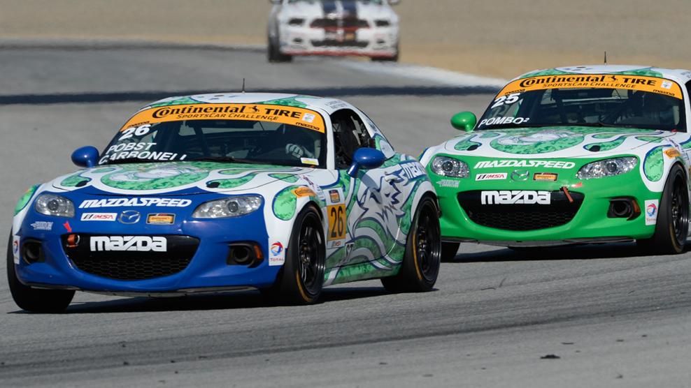 2015 Mazda Raceway Laguna Seca Race Broadcast
