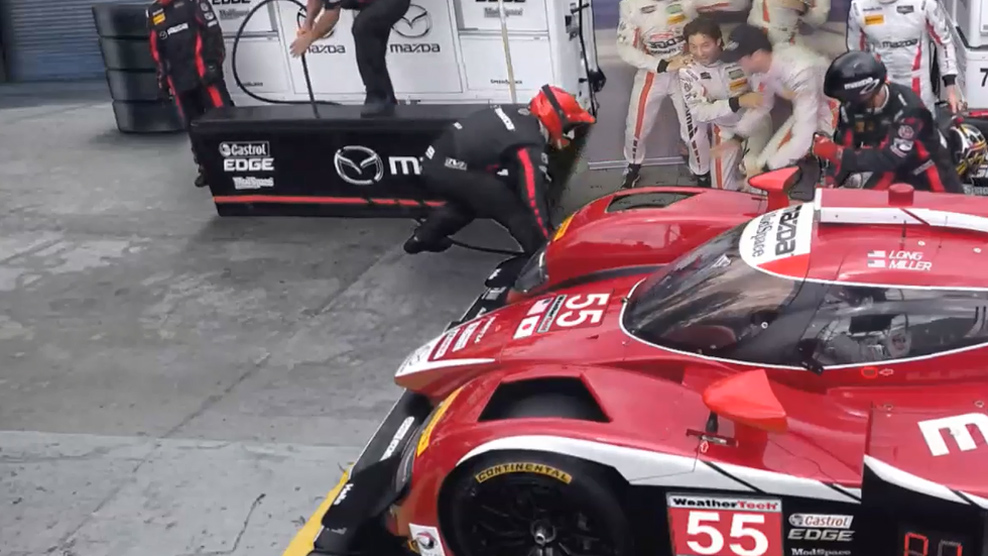 My Mazda Pit Stop Experience with #MazdaRacing