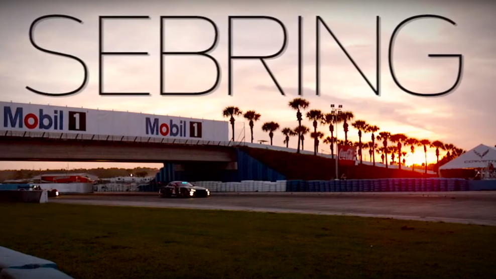 Part 1 - 2016 Mobil 1 Twelve Hours of Sebring