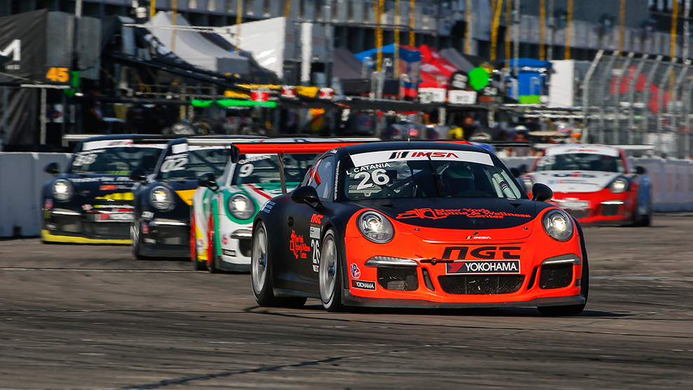 Sebring 2016 Porsche GT3 Cup Challenge USA by Yokohama TV Broadcast