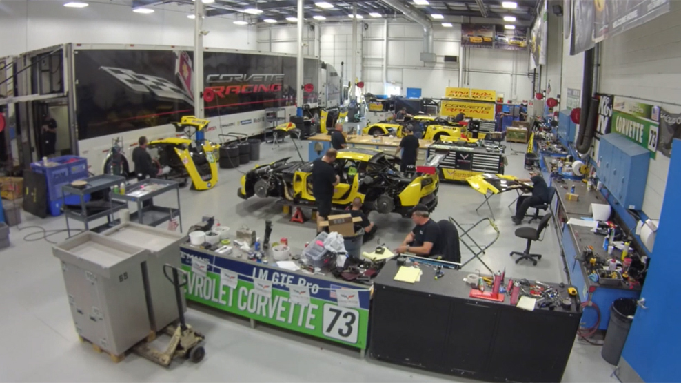 Corvette Racing Packs for Le Mans