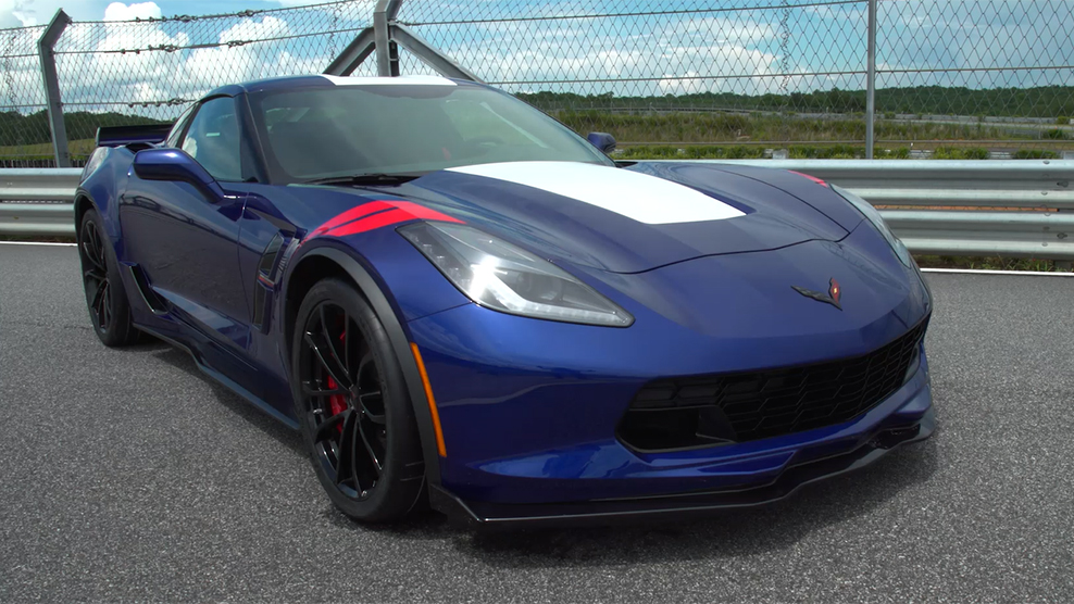 Inside The 2017 Corvette Grand Sport