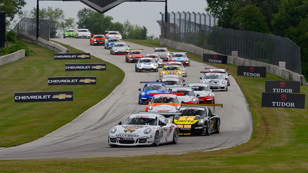 Road America 2015 Porsche GT3 Cup Challenge USA by Yokohama TV Broadcast