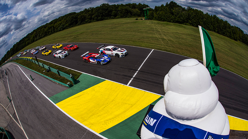 2017 Michelin GT Challenge at VIR Broadcast