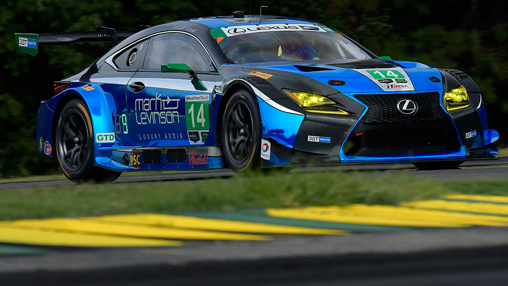 From Road to Racing: Lexus RC F