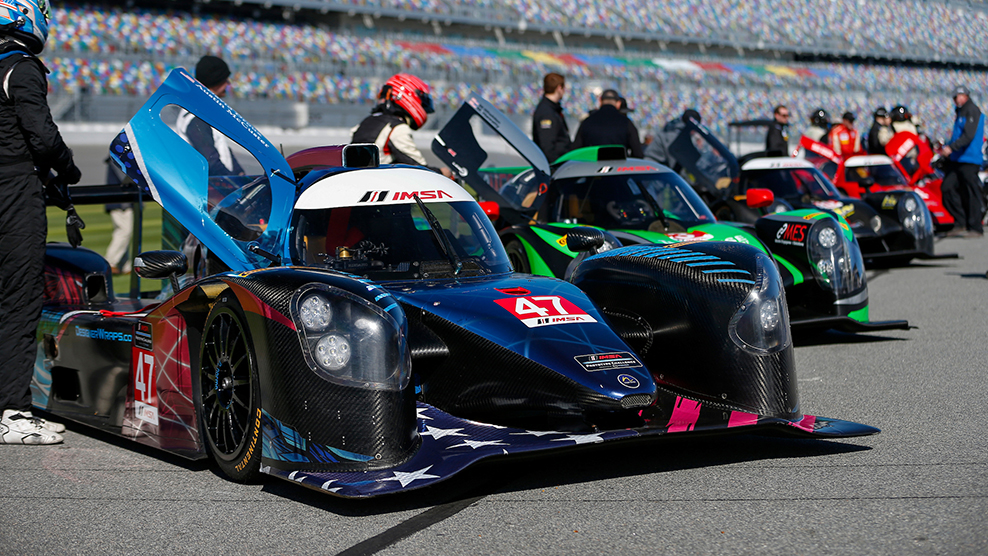 Daytona 2018 IMSA Prototype Challenge Presented by Mazda Broadcast