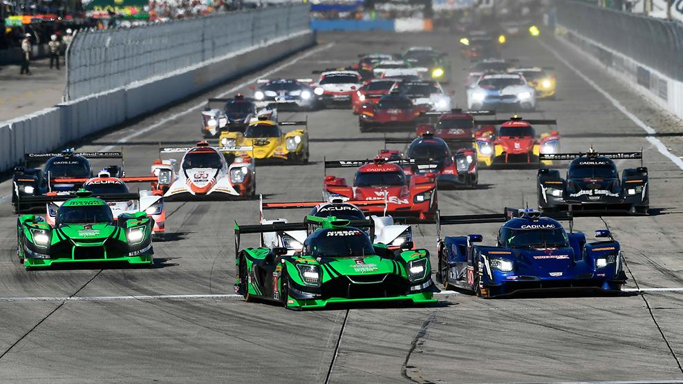 Part 1 - 2018 Mobil 1 Twelve Hours of Sebring Race Broadcast