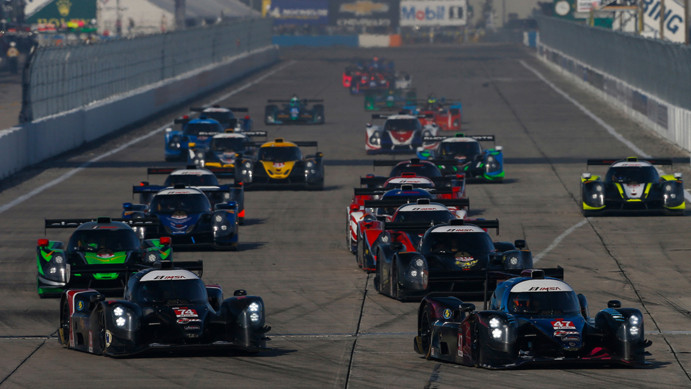Sebring 2018 IMSA Prototype Challenge Presented by Mazda Broadcast