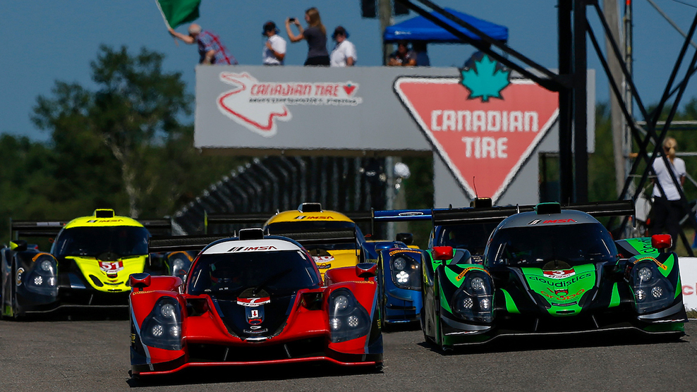 Canadian Tire Motorsport Park 2018 IMSA Prototype Challenge Presented by Mazda Broadcast