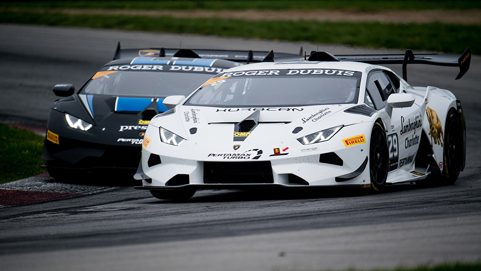 Up Next: 2018 Lamborghini Super Trofeo North America at Road America
