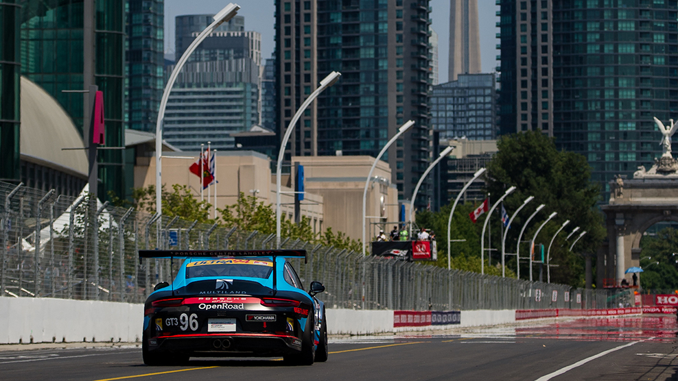 Streets of Toronto 2018 Ultra 94 Porsche GT3 Cup Challenge Canada by Yokohama
