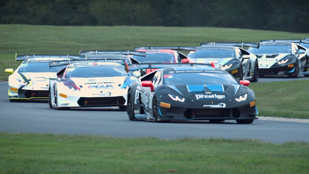 Up Next: 2018 Lamborghini Super Trofeo North America at VIR
