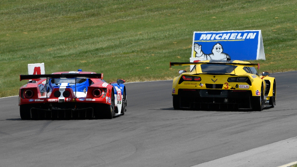 Teams And Drivers Looking To Make Move In The Points At Michelin GT Challenge