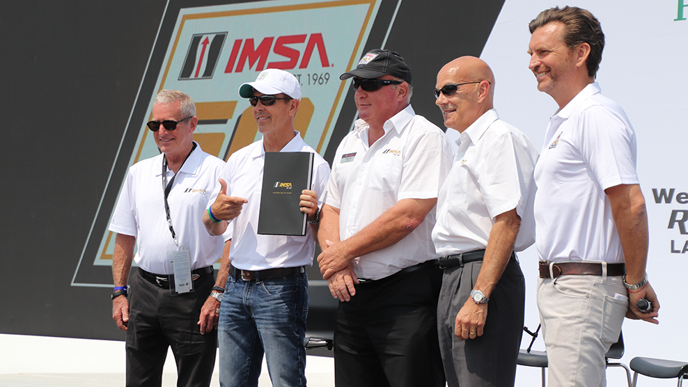 IMSA Unveils 50th Anniversary Book