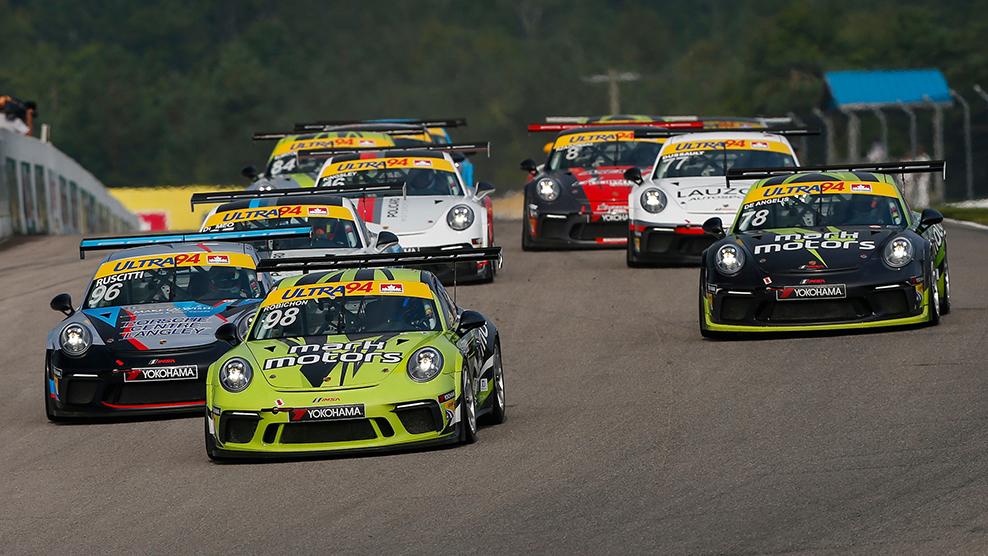 Canadian Tire Motorsport Park 2018 Ultra 94 Porsche  GT3 Cup Challenge Canada by Yokohama