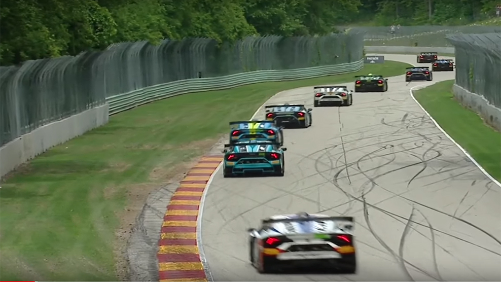 Road America 2018 Lamborghini Super Trofeo North America