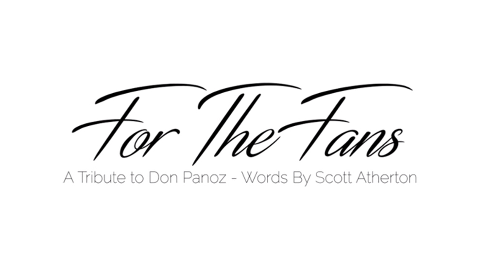 For The Fans: A Tribute To Don Panoz - Words By Scott Atherton