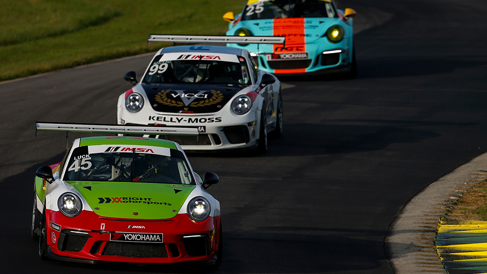 2018 VIRginia International Raceway Porsche GT3 Challenge Cup USA by Yokohama Broadcast