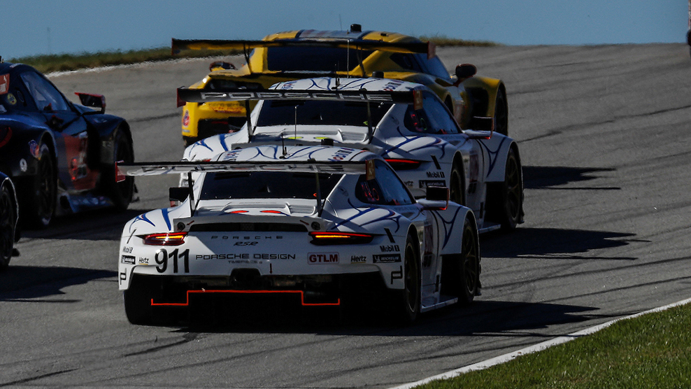 Porsche On-Track Battle Highlights Team's Throwback Liveries