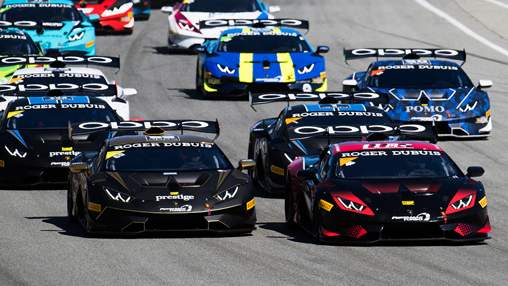 Lamborghini Super Trofeo North America Storms to Barber for Season Opener