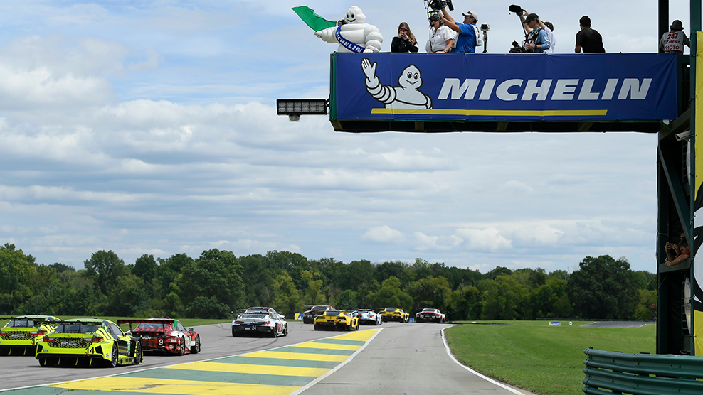 2019 Michelin GT Challenge at VIR Race Broadcast