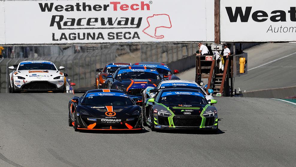 2019 WeatherTech Raceway Laguna Seca 120 Race Broadcast