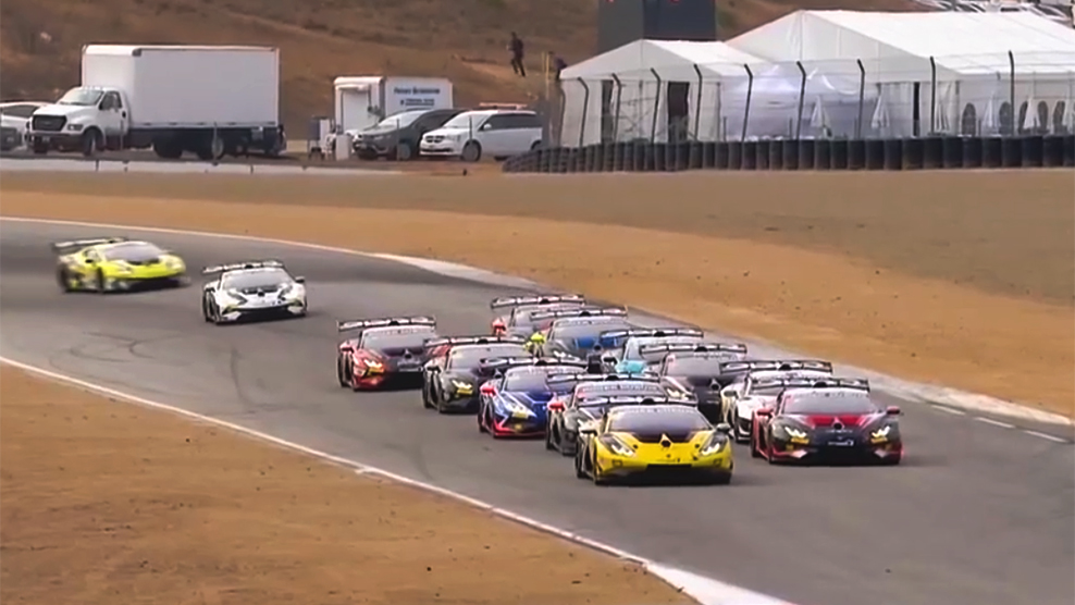 Sights And Sounds: 2019 Lamborghini Super Trofeo North America at WeatherTech Raceway Laguna Seca
