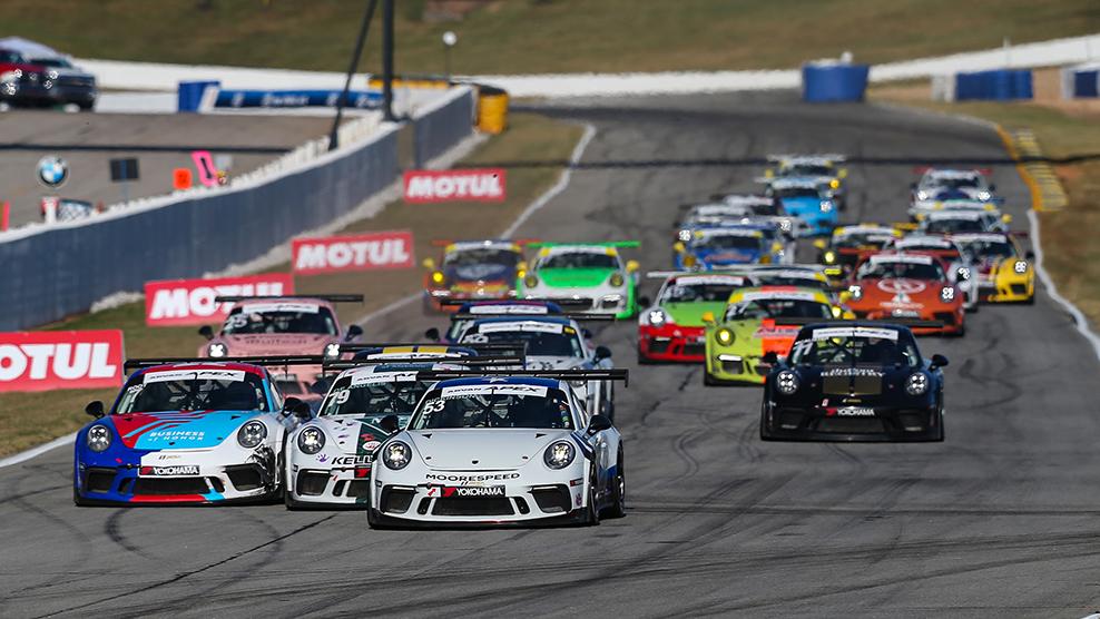 2019 Porsche GT3 Cup Challenge USA by Yokohama at Michelin Raceway Road Atlanta Race Broadcast