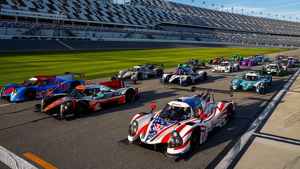 2020 IMSA Prototype Challenge At Daytona Race Broadcast