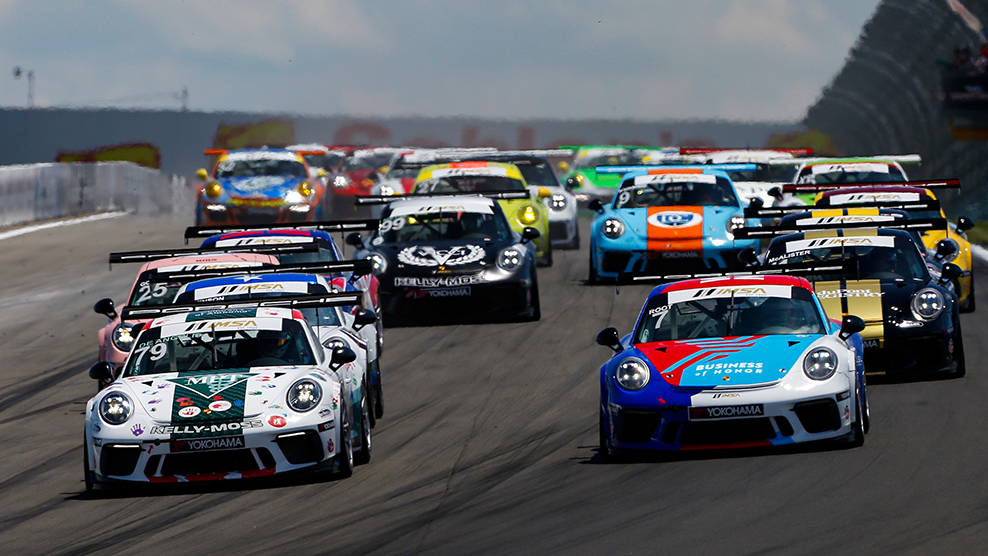 The 2020 Porsche GT3 Cup Challenge USA By Yokohama Kicks Off In St. Petersburg